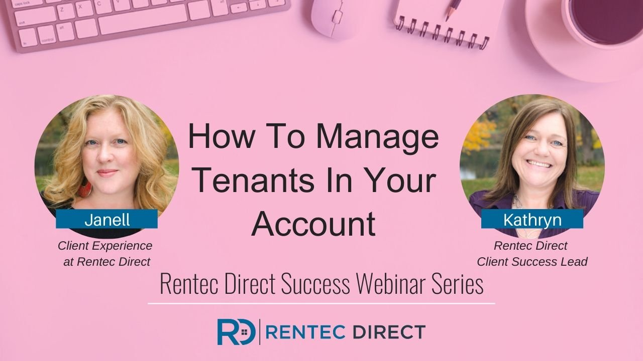 manage tenants rentec direct
