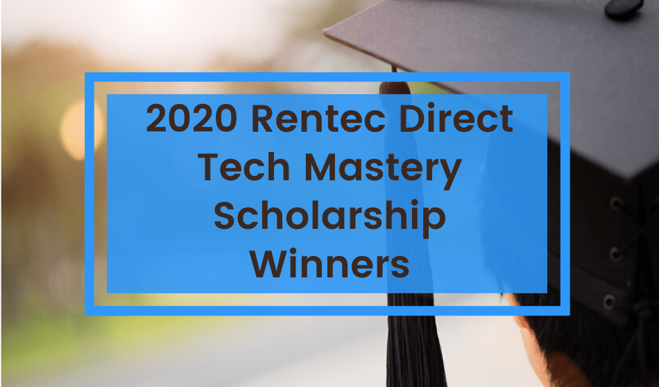 Congratulations to the 2020 Tech Mastery Scholarship Winners