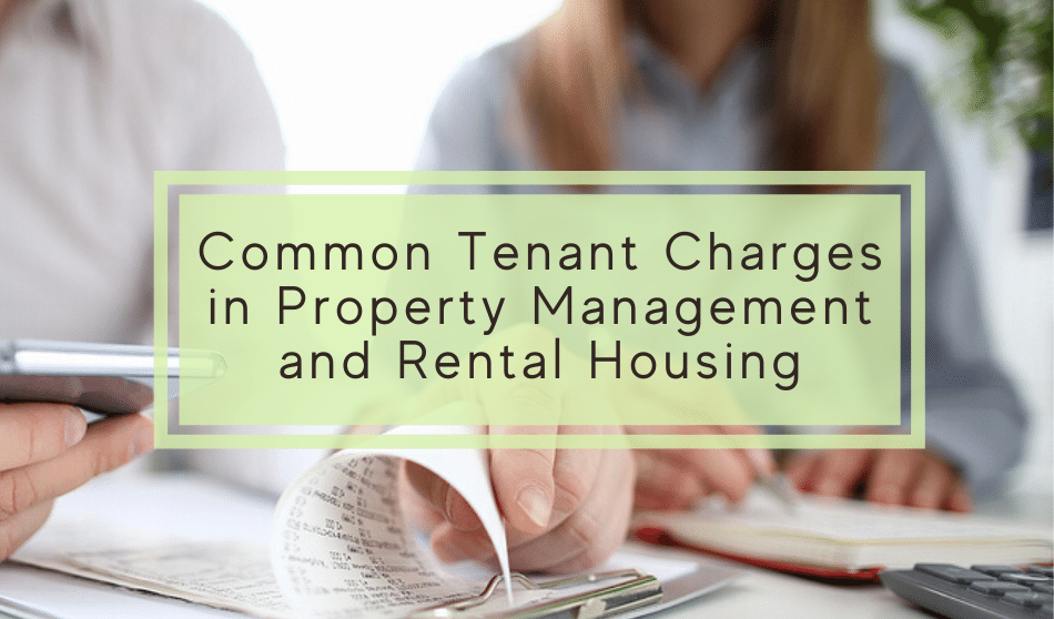 common tenant charges