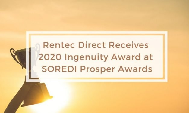 Rentec Direct Receives 2020 Ingenuity Award at SOREDI Prosper Awards