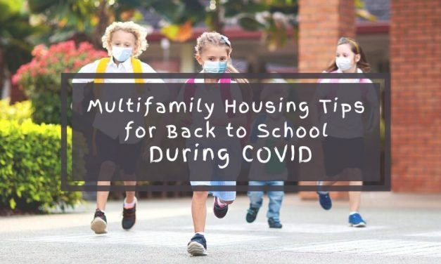 Multifamily Housing Tips for Back to School During COVID