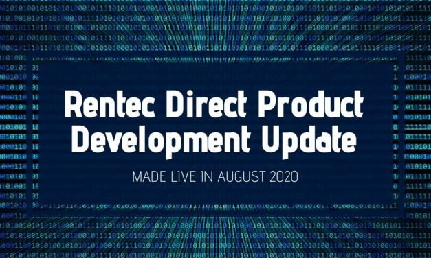 Rentec Direct Product Development Update: Made Live in August 2020