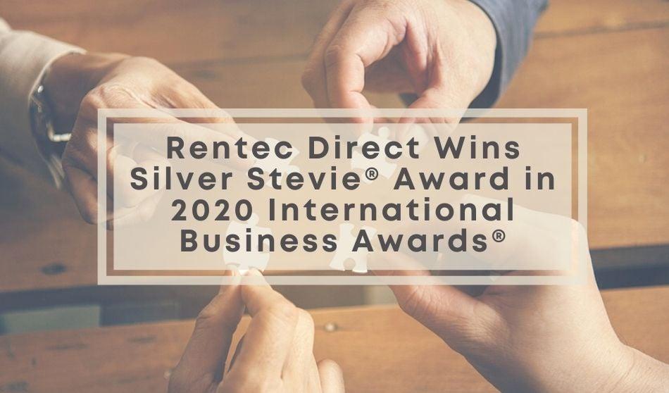 Rentec Direct Wins Silver Stevie® Award in 2020 International Business Awards®