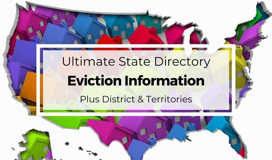 Ultimate State Directory Eviction Information Plus District and Territories