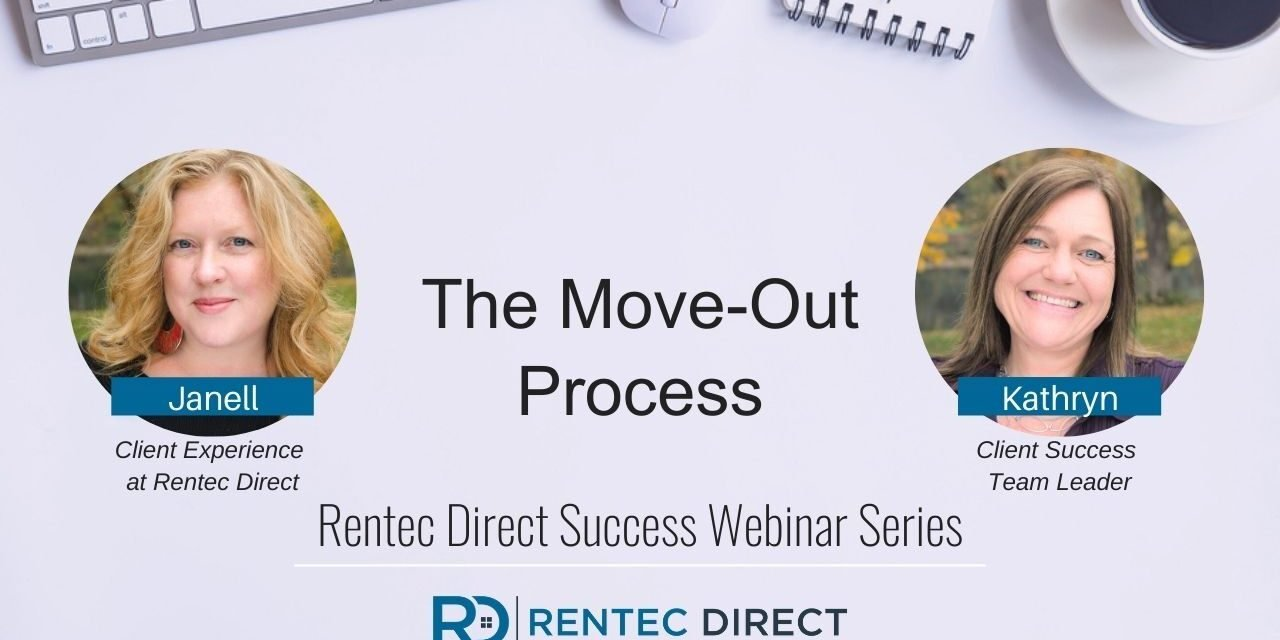 Webinar Recap: The Move-Out Process