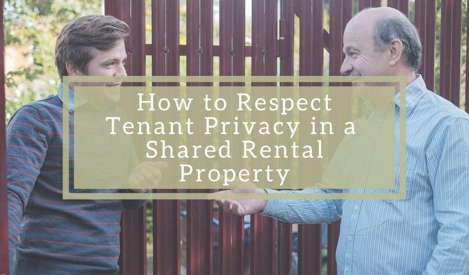 tenant privacy