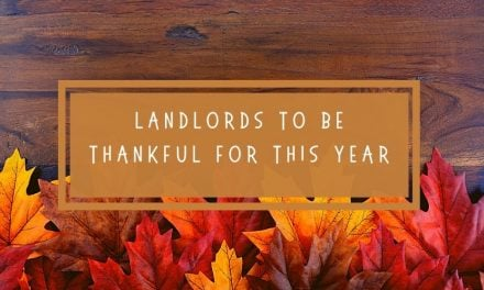 Landlords To Be Thankful For This Year