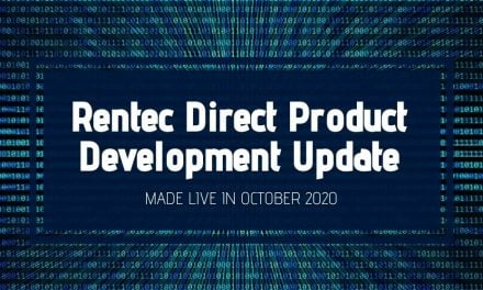 Rentec Direct Product Development Update: Made Live in October 2020