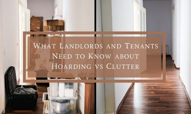 What Landlords and Tenants Need to Know About Hoarding vs Clutter