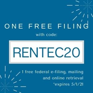 2020 Tax Season Nelco 1099 discount code