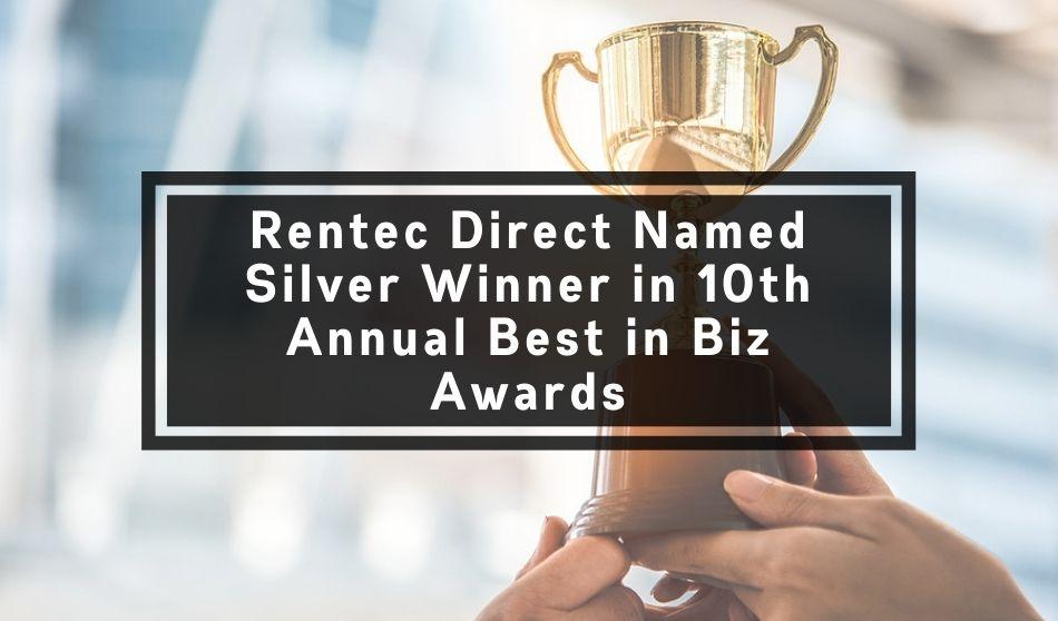 Rentec Direct Named Silver Winner in 10th Annual Best in Biz Awards