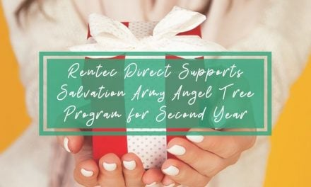 Rentec Direct Supports Salvation Army Angel Tree Program for Second Year