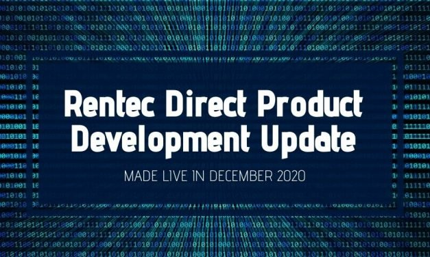 Rentec Direct Product Development Update: Made Live in December 2020