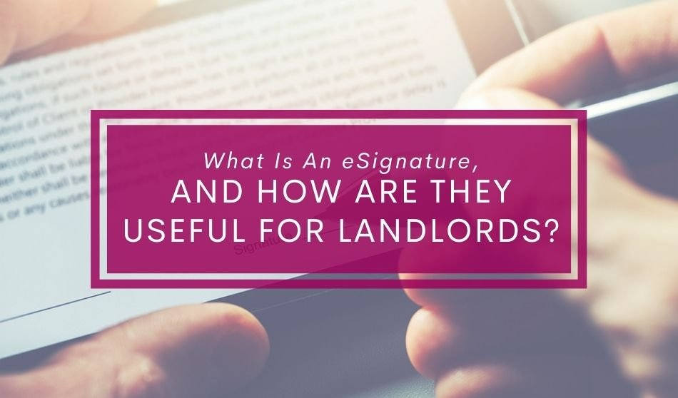 eSignature for landlords