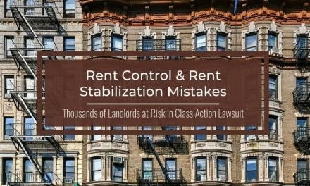 Rent Control and Rent Stabilization Mistakes | A Cautionary Tale From the News