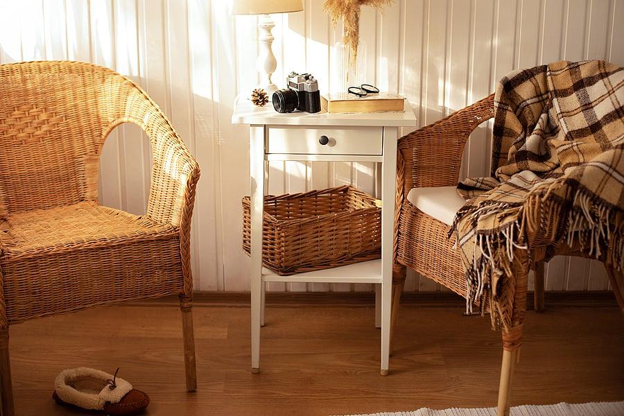 granny chic wicker furniture