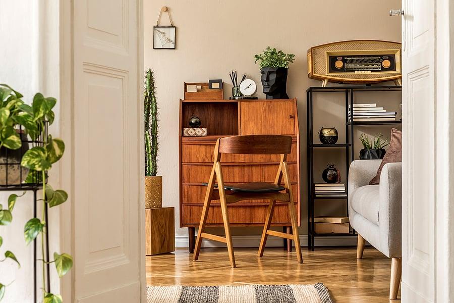 shop vintage for ecofriendly design