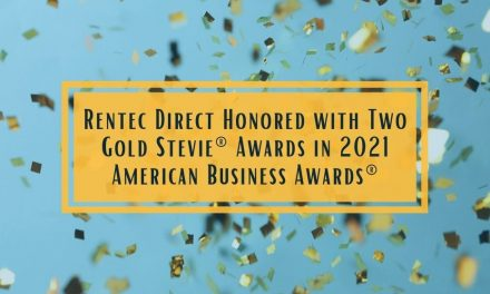 Rentec Direct Honored with Two Gold Stevie® Awards in 2021 American Business Awards®