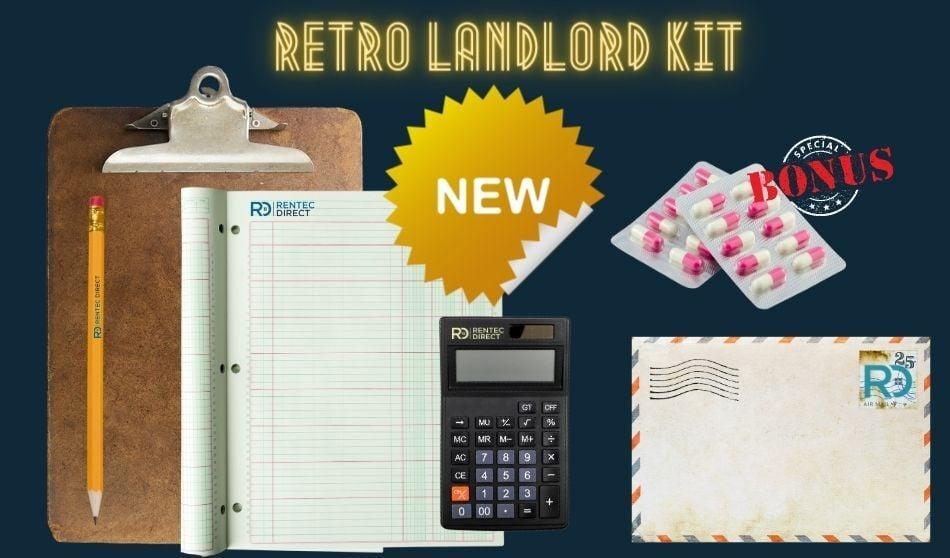 Retro Landlord Kit from Rentec Direct