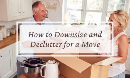 How to Downsize and Declutter for a Move