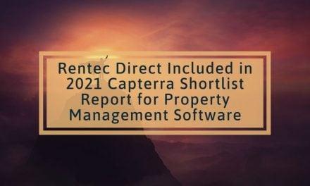 Rentec Direct Included in 2021 Capterra Shortlist Report for Property Management Software