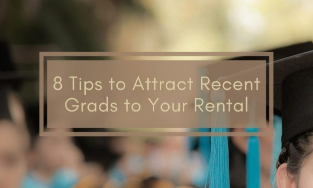 8 Tips to Attract Recent Grads to Your Rental