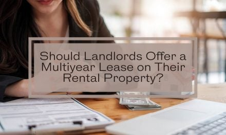 Should Landlords Offer a Multiyear Lease on Their Rental Property?