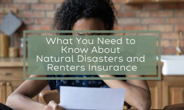 What You Need to Know About Natural Disasters and Renters Insurance