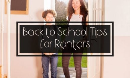 Back to School Tips for Renters