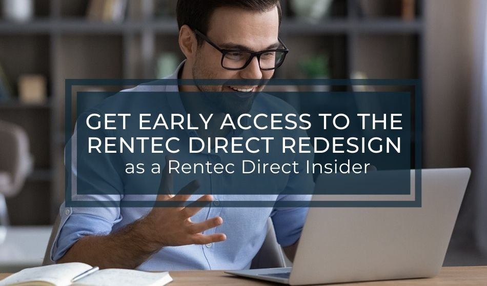 Get Early Access to the Rentec Direct Redesign as a Rentec Direct Insider