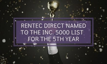 Rentec Direct Named to the Inc. 5000 List of America's Fastest-Growing Private Companies for the 5th Year