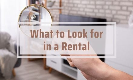 What to Look for in a Rental
