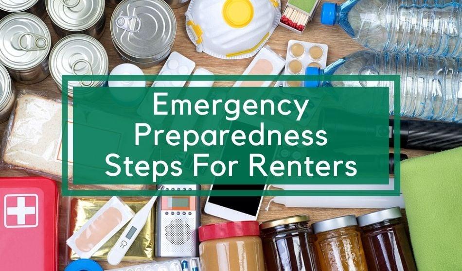Emergency Preparedness Steps For Renters