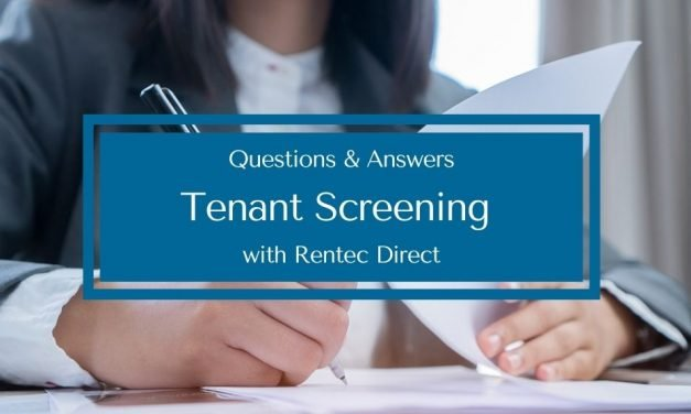 Questions and Answers | Tenant Screening with Rentec Direct