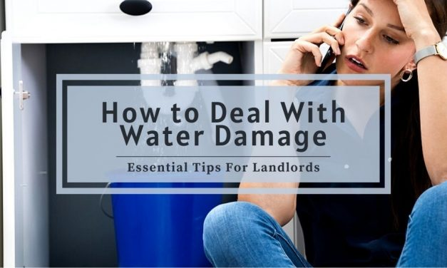 How to Deal With Water Damage | Essential Tips For Landlords