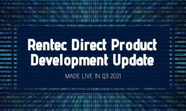 Rentec Direct Product Development Update: Made Live in Q3 2021