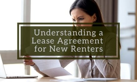 Understanding a Lease Agreement for New Renters